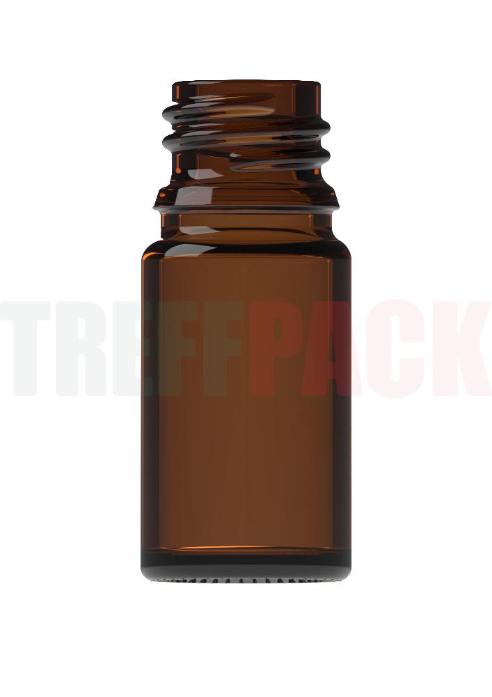 Tropfflasche braun 5 ml