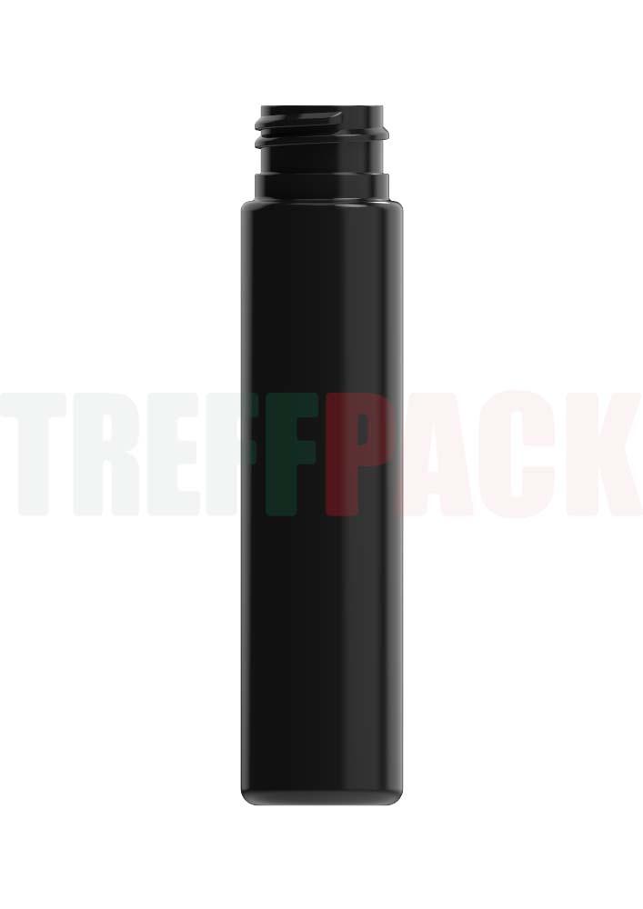 Rundflasche PET schwarz 60 ml, 24/410