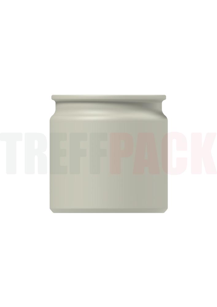 Steinzeug Topf 140 ml weiß