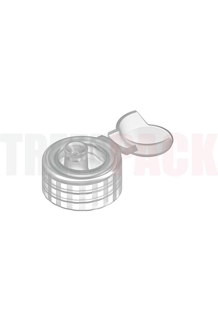 Klappscharnierverschluss Flip Top für Flaschen zur Händedesinfektion