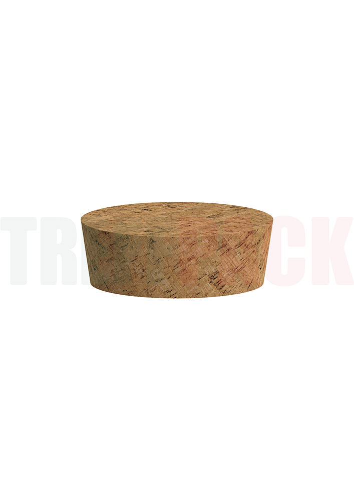 Korken 20 x 60/54 mm für Steinzeug Topf 140 ml