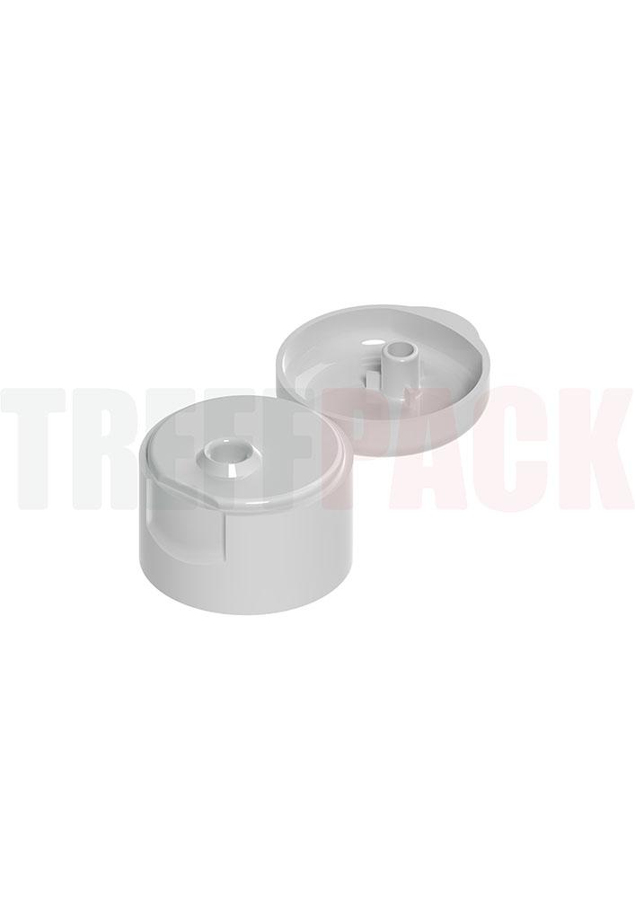Klappscharnierverschluss Flip Top für Flaschen zur Flächendesinfektion